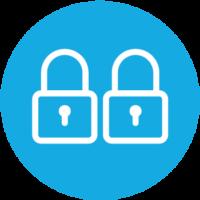 two-piece-locking-anti-panic-design-icon